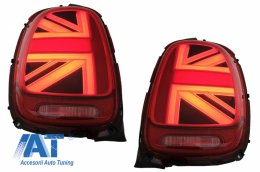 Stopuri compatibile cu MINI ONE F55 F56 F57 3D 5D Convertible (2014-2018) JCW Design Red - TLMINIF55R
