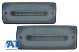 Stopuri Full LED compatibil cu MERCEDES G-Class W463 (1989-2015) Semnal Dinamic Secvential - TLMBW463LBS
