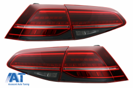 Stopuri Full LED compatibil cu VW Golf 7 VII (2012-2017) Facelift G7.5 Look - TLVWG7F