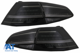 Stopuri Full LED compatibil cu VW Golf 7 VII (2012-2020) Facelift G7.5 Look Fumurii - TLVWG7FS