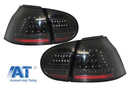 Stopuri FULL LED compatibil cu VW Golf V (2004-2009) Negru Urban Style - TLVWG5RS