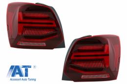 Stopuri Full LED compatibil cu VW POLO 6R 6C 61 (2011-2017) Semnal Dinamic Led Vento Look - TLVWPOMK6