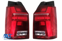 Stopuri Full LED compatibile cu VW Transporter T6 (2015-2020) Semnal Dinamic - TLVWT6LED