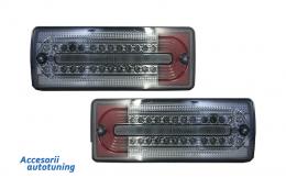 Stopuri Full LED Mercedes Benz W463 G-Class (1989-2015) Fumuriu/Rosu - TLMBW463BR