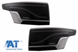 Stopuri Glohh LED LightBar compatibil cu Range Rover Sport L494 (2013-up) GL-5X Fumuriu Platinum Satin - TLRRSL494GS