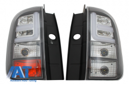 Stopuri LED BAR compatibil cu DACIA Duster (2010-2017) Black - TLDD/LDDA05