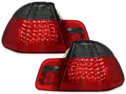 Stopuri LED BMW E46 Lim. 98-01  rosu/fumuriu 4-usi - RB21LRB