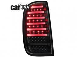 Stopuri LED CarDNA compatibil cu DACIA Duster Negru/Fumuriu - RD02LBS - RD02LBS