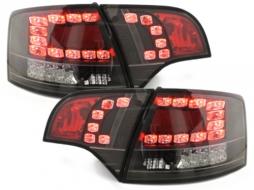 Stopuri LED compatibil cu AUDI A4 Avant B7 04-08LED BLINKERnegru - RA16SLBL
