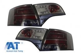 Stopuri LED compatibil cu AUDI A4 B7 Avant 04-08LED Negru - 1017798