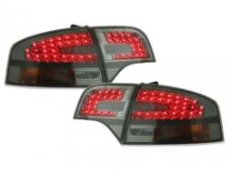 Stopuri LED compatibil cu AUDI A4 B7 Lim. 04-08_fumuriu - RA12DLS