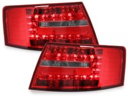 Stopuri LED compatibil cu AUDI A6 4F Limousine 04-08 Semnal LED, rosu/clar - RA19ELRC - RA19ELRC