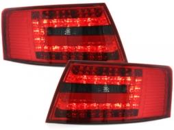 Stopuri LED compatibil cu AUDI A6 4F Limousine 04-08 Semnal LED rosu/fumuriu - RA19ELRS - RA19ELRS