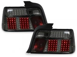 Stopuri LED compatibil cu BMW E36 Lim.cu LED-semnal  fumuriu - RB01DLS