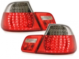 Stopuri LED compatibil cu BMW Seria 3 E46 Coupe Facelift (2003-2006) Rosu/Cristal - RB20L/1215995