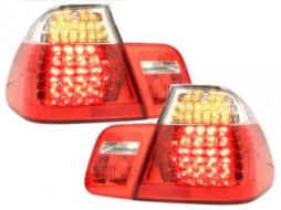 Stopuri LED compatibil cu BMW Seria 3 E46 Sedan 4D (1998-2001) Rosu/Cristal