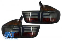 Stopuri LED compatibil cu BMW X5 E70 (2007-2010) Fumuriu