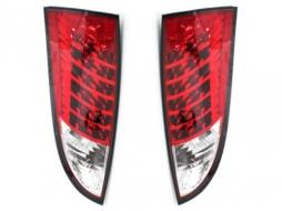 Stopuri LED compatibil cu FORD Focus 98-04 rosu/cristal - RF01ALRC