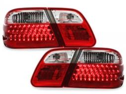 Stopuri LED compatibil cu MERCEDES Benz W210 E-Kl. 95-02  red/crysta - RMB10LRC