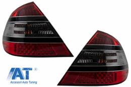 Stopuri LED compatibil cu MERCEDES Benz W211 LIMOUSINE (03.02-04.06) ROSU FUMURIU - TLMBW211