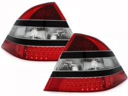 Stopuri LED compatibil cu MERCEDES Benz W220 S-Kl.negru/rosu/cristal - RMB08LB