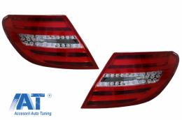 Stopuri LED compatibil cu MERCEDES C-Class W204 (2007-2012) LED Light Bar Facelift Design