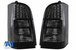 Stopuri LED compatibil cu Mercedes V-Class Vito W638 (1996-2003) Fumuriu - TLMBW638S
