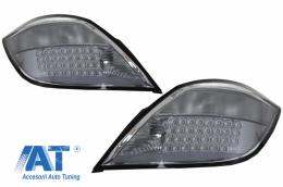 Stopuri LED compatibil cu OPEL Astra H (2004-2009) Hatchback 5 Usi Fumuriu - TLOPAH