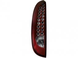 Stopuri LED compatibil cu OPEL Corsa C 00-06  rosu/cristal - RO06LLR