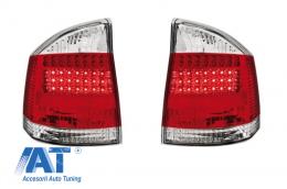 Stopuri LED compatibil cu OPEL Vectra C 02-07  rosu/cristal - RO12DLRC