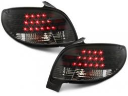 Stopuri LED compatibil cu PEUGEOT 206 98-09 negru - RP01LB