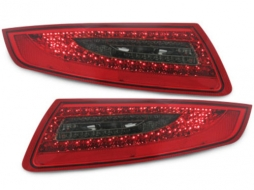 Stopuri LED compatibil cu PORSCHE 911 / 997 04-08rosu/fumuriu - RPO03DLRS