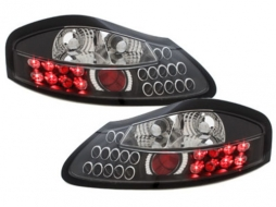 Stopuri LED compatibil cu PORSCHE Boxster 986 96-04  negru - RPO01LLB