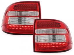 Stopuri LED compatibil cu PORSCHE Cayenne 9PA (2003-2006) Rosu/Cristal - RPO02LRC