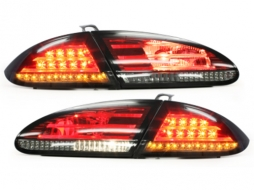 Stopuri LED compatibil cu SEAT Leon 05-09  1P  rosu/fumuriu - RSI07ALRS