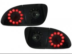 Stopuri LED compatibil cu SEAT Leon 99-05_ negru / fum - RSI02LLBS
