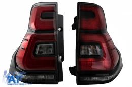 Stopuri Led compatibil cu TOYOTA Land Cruiser FJ150 Prado (2010-2018) LED Light Bar 2018+ Design - TLTOPFJ150VX