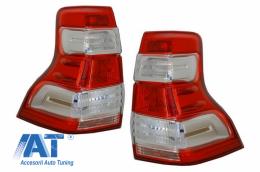 Stopuri LED compatibil cu TOYOTA Land Cruiser FJ150 Prado (2010-2018) LED 2018+ Design - TLTOPFJ150