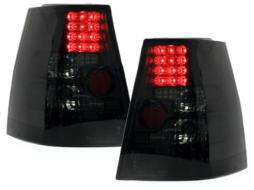 Stopuri LED compatibil cu VW Bora Variant Golf 4 IV + Variant Negru/Fumuriu - RV31LLBS