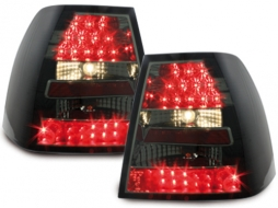Stopuri LED compatibil cu VW Bora 99-05_negru/fumuriu- - RV07LLBS