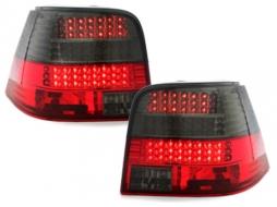 Stopuri LED compatibil cu VW Golf IV 97-04 rosu/fumuriu LED semnal - RV02DLRB