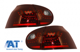 Stopuri LED  compatibil cu VW Golf V 5 (2004-2009) Rosu Inchis