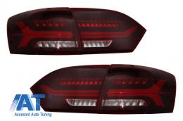 Stopuri LED compatibil cu VW Jetta Mk6 VI 6 (2012-2014) Semnal Secvential Dinamic - TLVWJ6