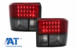 Stopuri LED compatibil cu VW T4 (1990-2003) Rosu Fumuriu - RV15DLRS