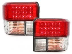 Stopuri LED compatibil cu VW T4 (1990-2003) Cristal Rosu - RV15DLRC