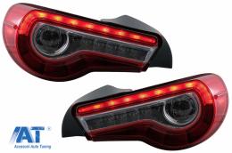 Stopuri LED compatibile cu Toyota 86 (2012-2019) Subaru BRZ (2012-2018) Scion FR-S (2013-2016) cu Semnal Dinamic - TLSUBRZ