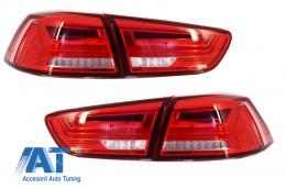 Stopuri LED Mitsubishi Lancer (2008+) / EVO X (2008+) Semnal Dinamic
