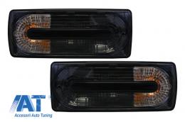 Stopuri Negru Fumuriu compatibil cu MERCEDES Benz W463 G-Class (1989-2015) G55 OEM Look - TLMBW463RCOEMB