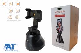 Suport pentru Telefonul Mobil Urmarire Automata a obiectelor/fetei cu Rotatie 360 Selfie Stick pentru TikTok / YouTube / Stream live / Machiaj - TRCAM360