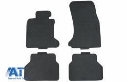 Tenzo-R Premium Covorase Presuri Auto Negru din Cauciuc compatibil cu BMW 5 Series E60 Limousine E61 Touring (2003-2010) - 38036